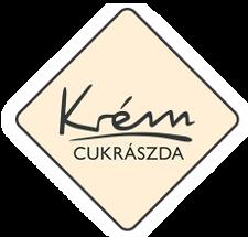 Krém kávézó logó